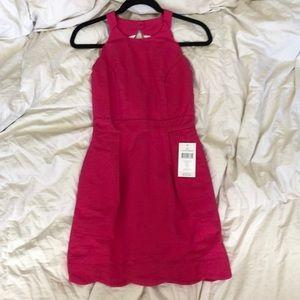 Lauren James hot pink dress
